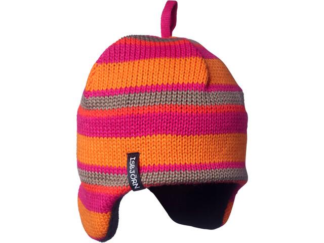 Isbjörn Stripes Gorro de punto Niños, lollypop
